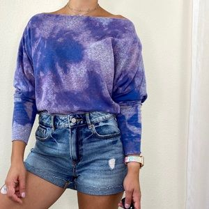 Free People Upcycled Valencia Slouchy Top